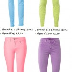 Wednesday Wardrobe Wonder: J Brand Electric Neon Jeans