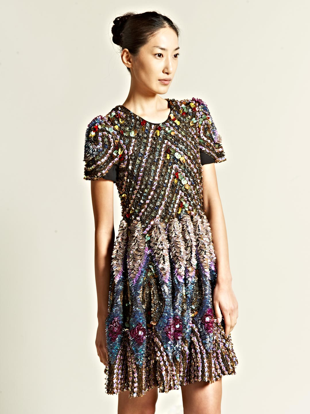Wednesday Wardrobe Wonder: James Long Fully Encrusted Tee Dress