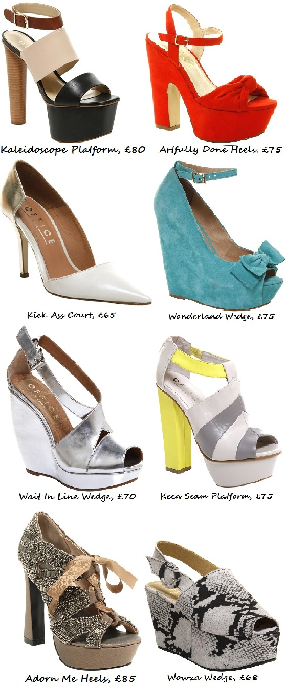 Tuesday Shoesday: Office High Summer 2012 Collection