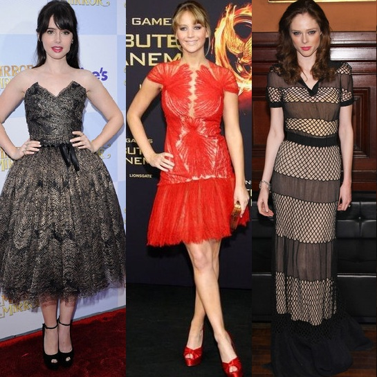 Rate or Slate? Lily Collins vs. Jennifer Lawrence vs. Coco Rocha