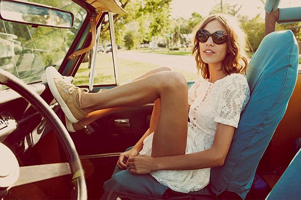 Alexa Chung models for (and directs) Superga's latest ad campaign!