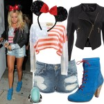 Get Ashley Tisdale's American party girl look!