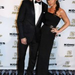 David and Victoria Beckham are looking sexy and matchy at the Latin Music Awards