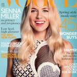 Sienna Miller covers British Vogue April in Stella McCartney