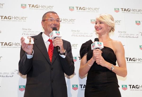 Cameron Diaz becomes newest TAG Heuer brand ambassador!