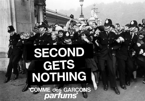 Today's the FINAL DAY to win a Comme des Garcons 2 perfume!