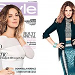 Drew Barrymore poses sweetly for InStyle UK April 2012