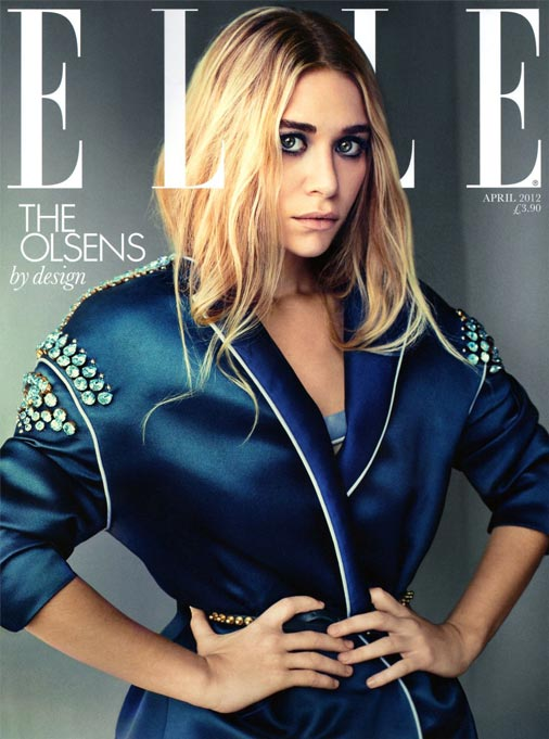Mary-Kate and Ashley Olsen are all over Elle UK's April issue!