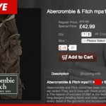 Fake Abercrombie and Fitch site in trouble over racist product description!