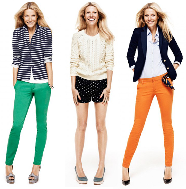 Gwyneth Paltrow gets 'Modern Preppy' for Lindex