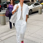 Jada Pinkett-Smith's looking all white in New York City