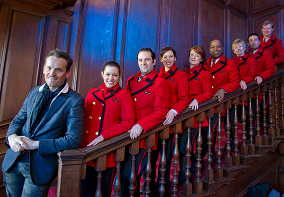 First look at the Jaeger uniforms for Kensington Palace staff