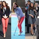 Kate Middleton dresses down to play hockey with Team GB before changing into a classy Orla Kiely dress