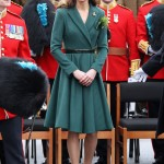 Kate Middleton gets patriotic for Saint Patrick's Day in green Emilia Wickstead