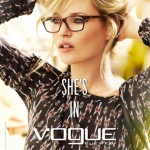 Kate Moss is back modelling Vogue eyewear