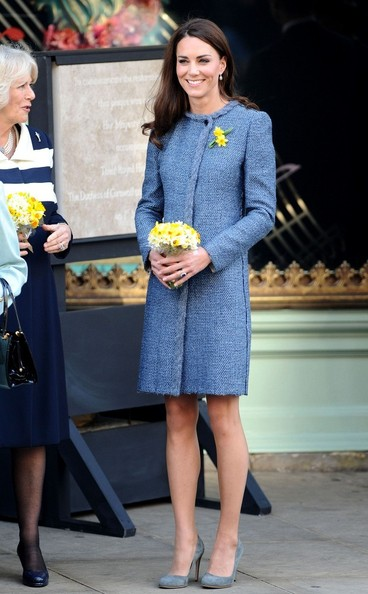 Kate Middleton wears M Missoni to Fortnum & Mason