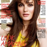 Leighton Meester fronts Marie Claire's April 2012 issue