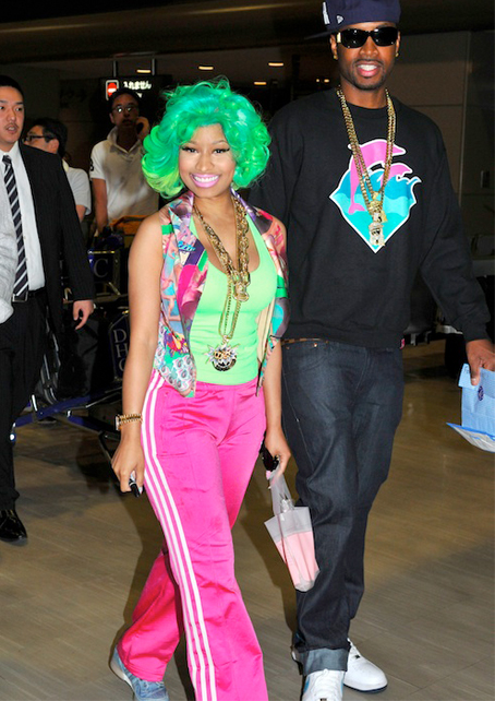 Nicki Minaj is looking… interesting in Tokyo