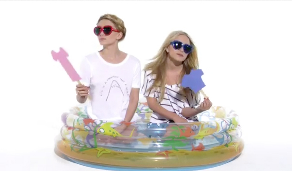 WATCH Mary-Kate and Ashley Olsen acting goofy for StyleMint