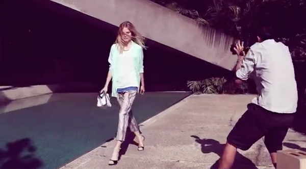 Go behind-the-scenes of Reiss' spring/summer 2012 ad campaign!