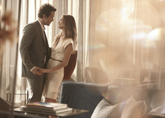 Rosie and Ryan are back for Marks and Spencer's Autograph ad campaigns