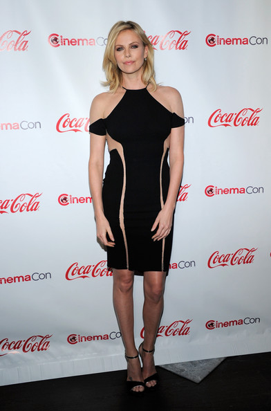 Best Dressed of the Week: Charlize Theron in Dion Lee at the Cinecon 2012 Awards Ceremony