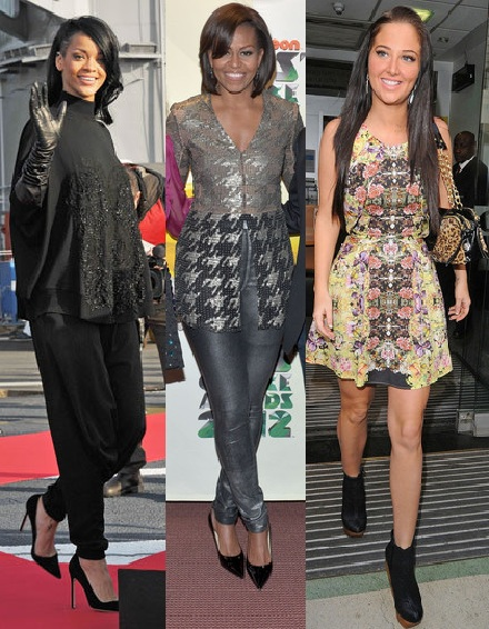 Rate or Slate: Rihanna in Givenchy, Michelle Obama in Wes Gordon and Tulisa in Topshop
