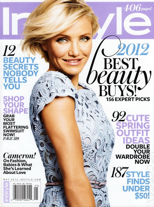 Cameron Diaz wows in Valentino for InStyle US May
