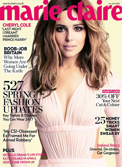 Cheryl Cole is Marie Claire UK's May cover star!