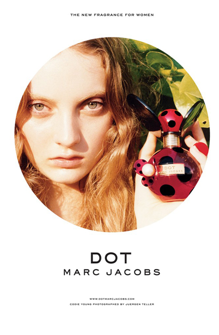 More info on Marc Jacobs' adorable new fragrance, Dot