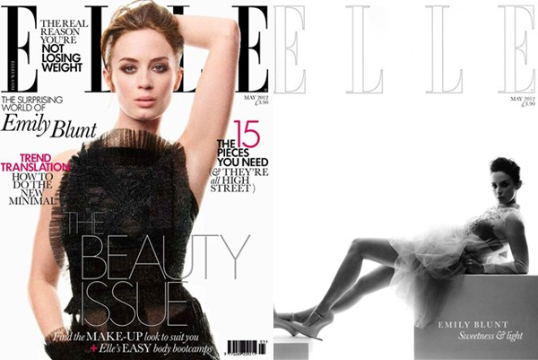 "Emily Blunt talks to Elle UK about how she deals with fame, and her ""hysterical"" encounter with Barack Obama"