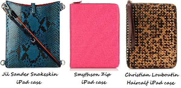 "ACCESSORY ALERT: The ""I die!"" iPad Wardrobe"