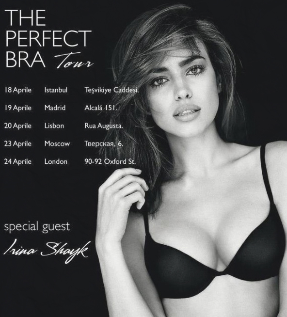 Want to meet the gorgeous Irina Shayk?
