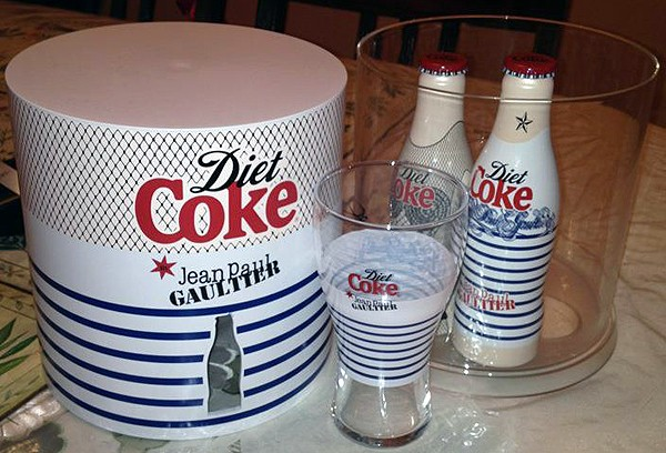 Jean Paul Gaultier for Diet Coke launches at Harvey Nichols in London!