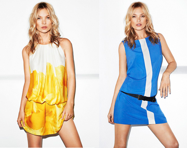 More Kate Moss for Mango pics, plus go behind-the-scenes