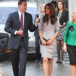 Kate Middleton wears Matthew Williamson to African Cats premiere in London