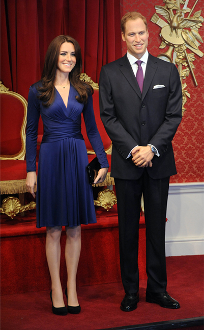 Madame Tussauds unveils £150,000 Kate Middleton waxwork