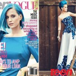 Katy Perry stuns in Zac Posen and Oscar de la Renta for Teen Vogue