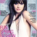 Zooey Deschanel covers Marie Claire US May