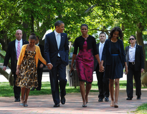 Michelle Obama recycles Thakoon for Easter Sunday