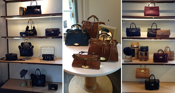 What we snapped at the Mulberry autumn/winter 2012 press day