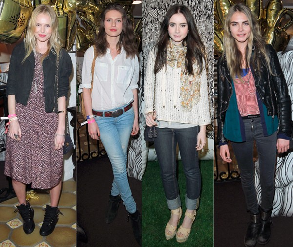 Mulberry celebrates Coachella with TWO lavish parties!