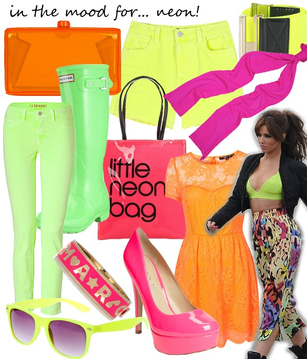 Midweek Moodboard: Our neon obsession