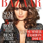 Penelope Cruz covers May's Harper's Bazaar US in Armani Privé