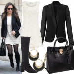 Get Pippa Middleton's monochrome lace look