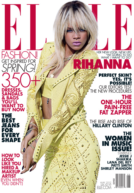 """I don't have anything to hide,"" Rihanna tells Elle US"