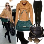 Get Rosie Huntington Whiteley's chic airport look