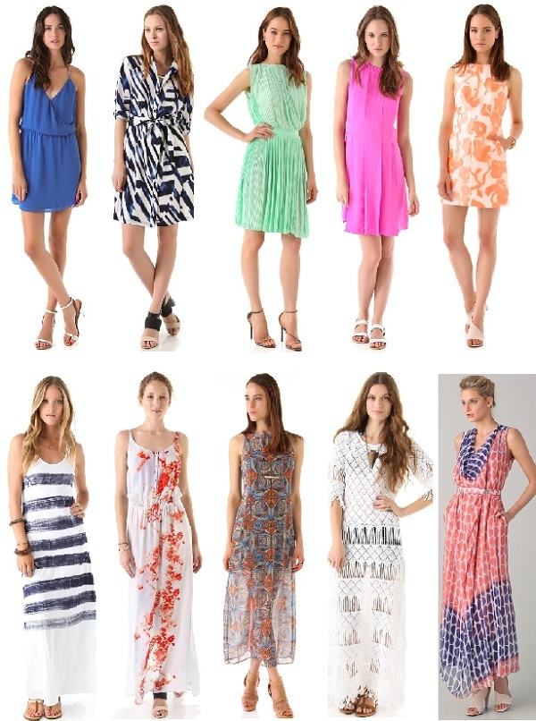 Maxi vs.Short…10 snap-up-now summer dresses to shop!