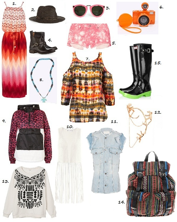 The Festival Fashion Checklist – it's all you need!