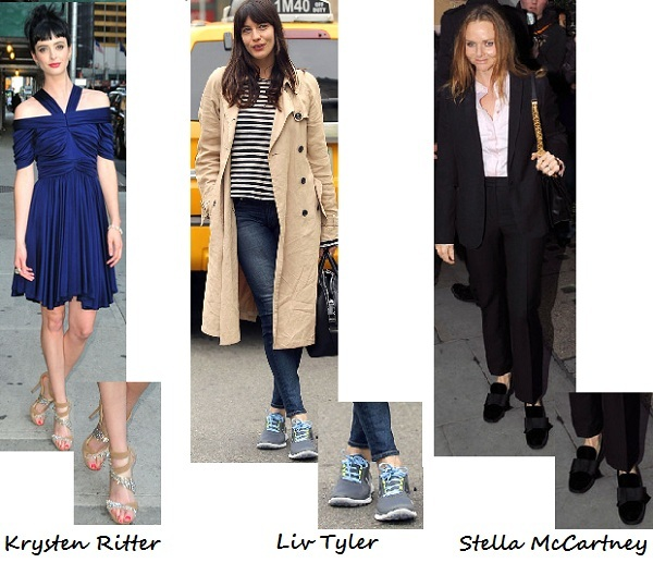 Channel these celebrities with our top Tuesday shoe picks!